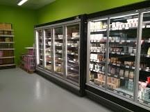 Mobilier frigorifique négatif magasin la Vie claire St Maximin après travaux 2014