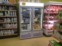 Mobilier frigorifique négatif magasin la Vie claire St Maximin avant travaux 2013